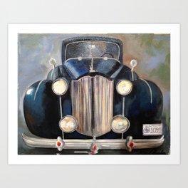 1920's Roadster Art Print