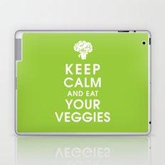Keep Calm and Eat Your Veggies Laptop & iPad Skin