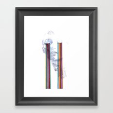 Lacryma Color Framed Art Print
