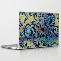 tiki Laptop & iPad Skins featuring Tiki Dance by Vikki Salmela