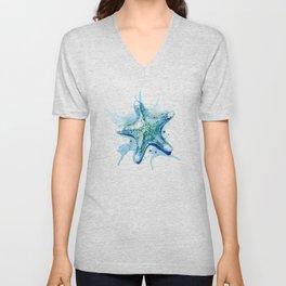 Starfish Waters II Unisex V-Neck