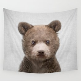 Baby Bear - Colorful Wall Tapestry