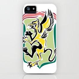Golden griffin  iPhone Case