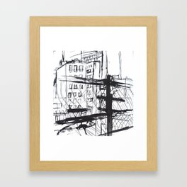 NYC High Line No.2 Framed Art Print