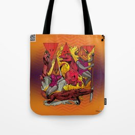 The Vulcaen Fire Tribe of The Obsidian Flame Tote Bag