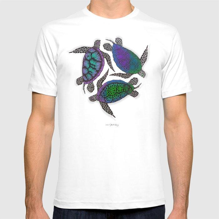 TURTLES CIRCLE T-shirt