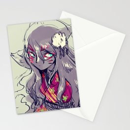 Fox girl sketch Stationery Cards