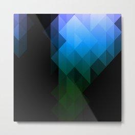 Blue Delight Metal Print