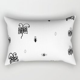 Bugs buzz town Rectangular Pillow