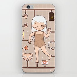 MUOUS Doll iPhone Skin
