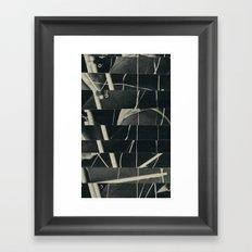 Glitched Rigging Framed Art Print