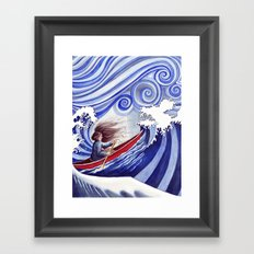 The Winds of Change Framed Art Print
