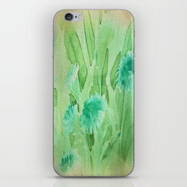 Elegant Soft Watercolor Floral  iPhone Skin