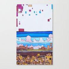 Adobe City Canvas Print