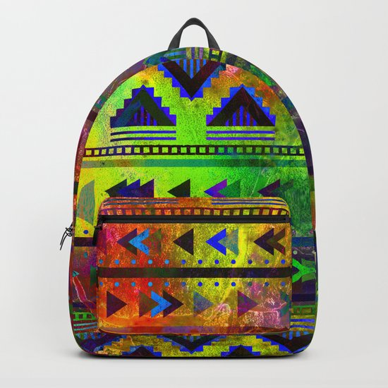 pop triangles Backpack
