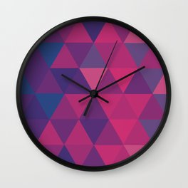 Pink tones Wall Clock