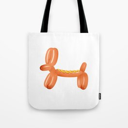Balloon Hotdog Tote Bag