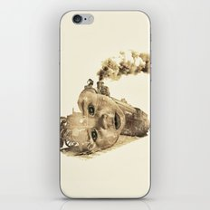 train of life iPhone & iPod Skin