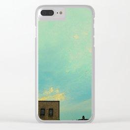 Big Sky #10 Clear iPhone Case