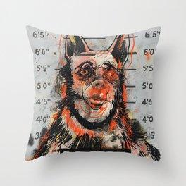 Waldick Dogman Throw Pillow