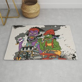 Cheech & Chong Love Machine Rug