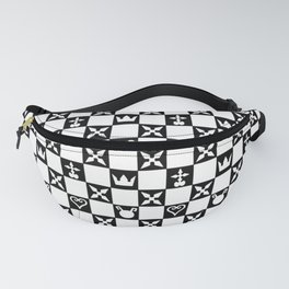 Kingdom Hearts pattern Fanny Pack