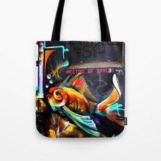 Meeting of Styles Tote Bag
