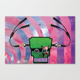 Monster of Rock Canvas Print