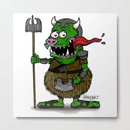 Guard Fink Metal Print