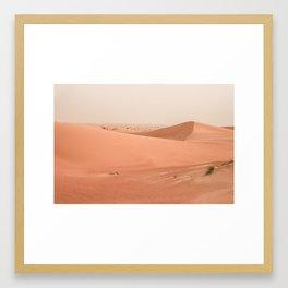 Desert Sand Framed Art Print