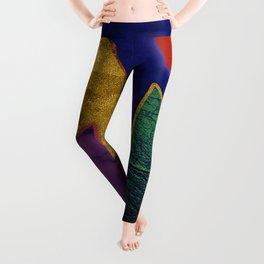 Abstract #424 Leggings