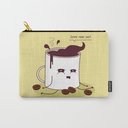 Coffee Mug Addicted To Coffee Carry-All Pouch