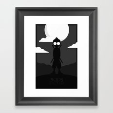 Moon Picker Framed Art Print