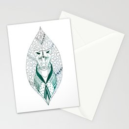 The Tribal Lioness Stationery Cards