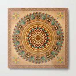 Mandala Armenia Iyp V2 Metal Print