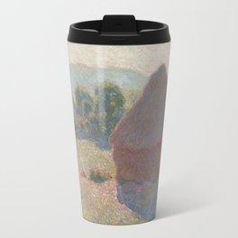 Meules, milieu du jour [Haystacks, midday] Travel Mug