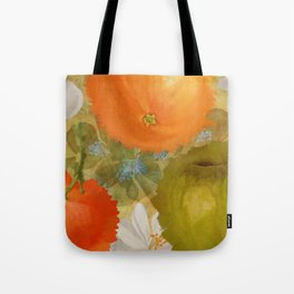 Abstract Fruits Tote Bag