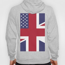 United States and The United Kingdom Flags United Forever Hoody