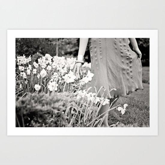 Garden Stroll Art Print