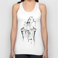 army Tank Tops featuring Dumbledore's Army by Jena Sinclair