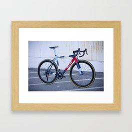 Ritte Ace Tricolor Red Framed Art Print