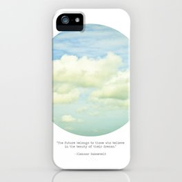 The beauty of the dreams iPhone Case