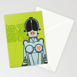 Ladytron Stationery Cards
