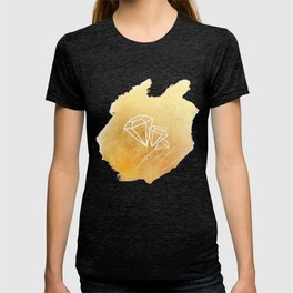Faceted Gold T-shirt