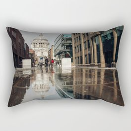 London and reflection Rectangular Pillow