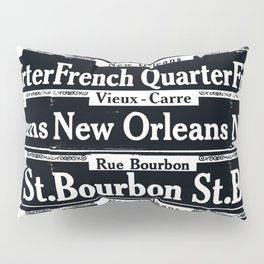 New Orleans French Quarters Pillow Sham