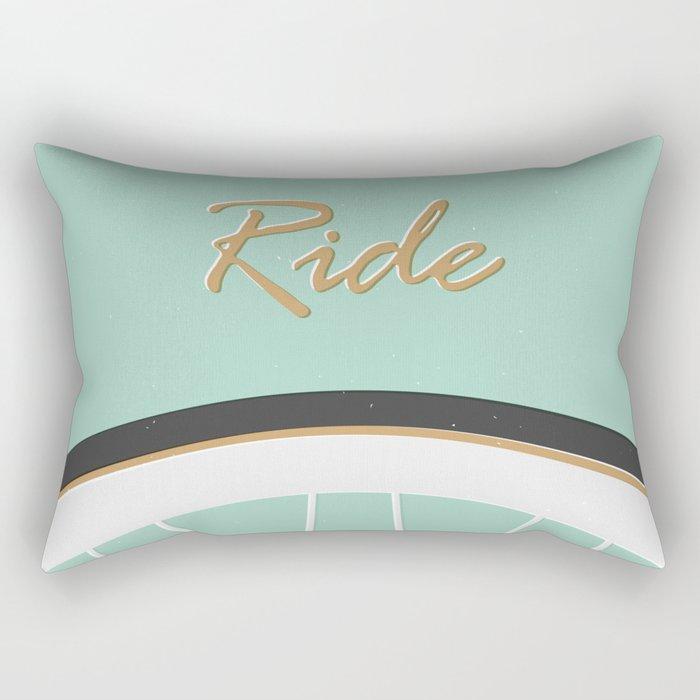 Ride Rectangular Pillow