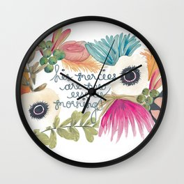 His Mercies are New Wall Clock