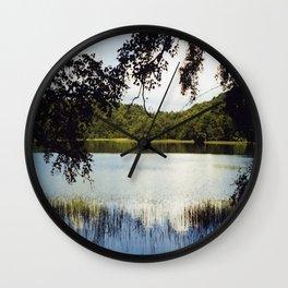 Gormire Lake SLR Photo Wall Clock