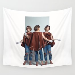 Orphic / The three Graces Wall Tapestry